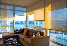 Someday, I want a room full of windows overlooking the water...