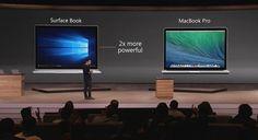 Retina MacBook Pro vs. Surface Book
