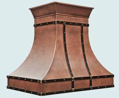Copper  Range Hood  # 5200