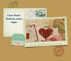 Send me some sugar! by Believe Creative Studio Surface,Textile & Graphic design