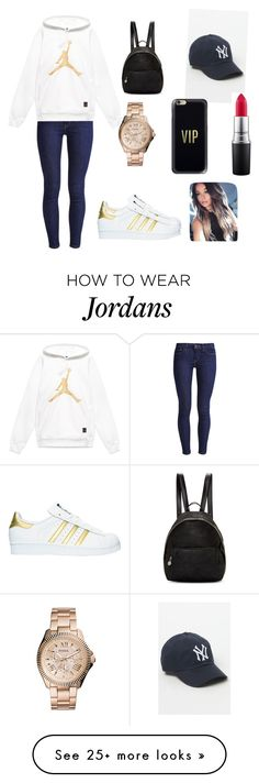 """Untitled #482"" by bekanadasi on Polyvore featuring American Needle, Levi's, MAC Cosmetics, Casetify, FOSSIL, adidas and STELLA McCARTNEY"