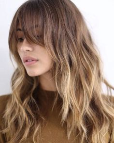 Long Layered Hairstyle #balayage #brownhair