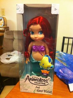 Disney Animators' Collection Signed Ariel Doll