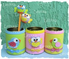 Foamy Granola granola using instant oatmeal Kids Crafts, Tin Can Crafts, Foam Crafts, Diy And Crafts, Arts And Crafts, Paper Crafts, Recycle Cans, Diy For Kids, Decoupage