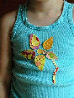 Applique without sewing edges