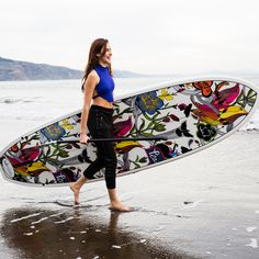 Last summer: Sakroots Paddle Board