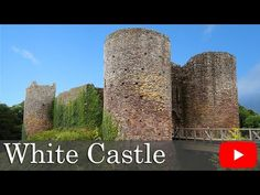 Why is White Castle Not White? Also known as Llantilio Castle. - YouTube
