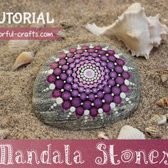 Easy step by step mandala stone tutorial! Follow these simple instructions to create your own DIY mandala stone! With lots of pictures and tips