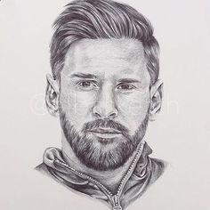 Lionel Messi w wersji rysunkowej portret Football Player Messi, Messi Soccer, Football Art, Soccer Players, Football Doodle, Leonel Messi, Football Player Drawing, Soccer Drawing, Messi Drawing