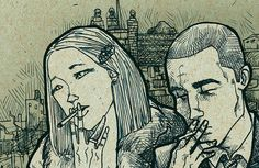 Richie and Margot by suPmon on Etsy, $22.00