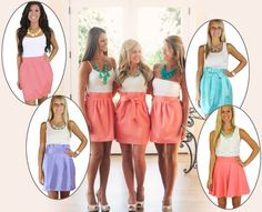 Custom Made Wedding and Bridesmaids Styles at Affordable Prices from Frill Clothing {$18-$150)