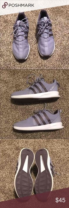 Adidas SL Loop adidas shoes in perfect condition, worn once because they were too big for me. they are a size 7 in kids so fits women's 8.5-9. very comfortable shoe Adidas Shoes Athletic Shoes