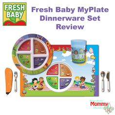 Fresh Baby MyPlate Dinnerware Set and Review