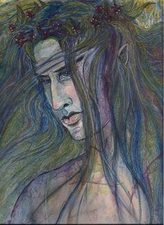 'Thranduil, The Elvenking' by ArtOfKatjaK.deviantart.com on @deviantART