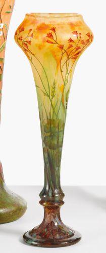 daum wildflowers vase ||| object ||| sotheby's n08999lot6yhqten