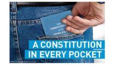 Free Pocket Constitution
