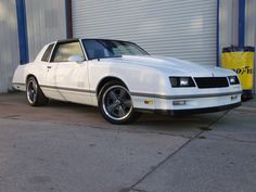 1986 Chevrolet Monte Carlo SS Coupe.