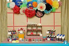 teacher appreciation candy station