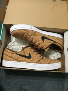 Nike Air Janoski Cork And Mint Nds 2 Pairs ! 100% Authentic Size 10