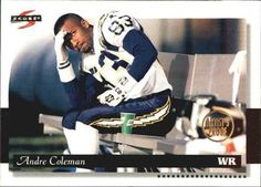1996 Score - Artist's Proofs #112 Andre Coleman Front