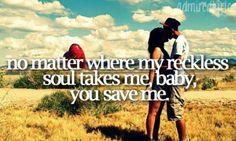 You save me <3