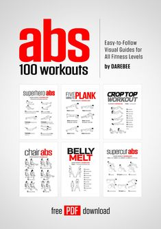 Abs: 100 Workouts by DAREBEE