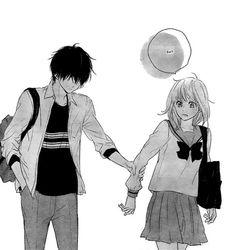 #haru matsu bokura #manga #shoujo #manga cap #mangacap #love #cute #kawaii #edits #towa x mitsuki #mitsuki x towa #asakura towa #mitsuki #asakura #towa #lovely #sighs #eh? #grabs