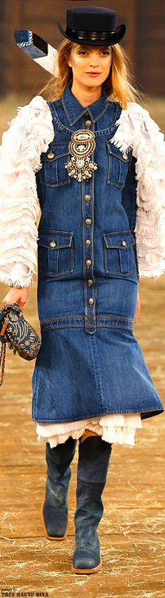 Chanel Pre-Fall 2014 Dallas   www.vogue.com/... | The House of Beccaria#