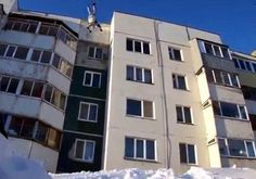 There seems to be a wealth of crazy daredevils in Russia, and the latest stunts are crazier than ever. They involve jumping off a roof and landing in the snow 17 meters below.  Read more: http://www.digitaljournal.com/article/347630