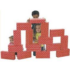 Smart Monkey Toys Giant 16-piece Building Block Set
