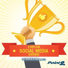 3 Tips for Social Media Success for Real Estate Agents - http://www.point2.com/blog/2015/01/19/3-tips-social-media-success-real-estate-agents/ via @point2 @KyleHiscockRE  #realestate #socialmedia #smm