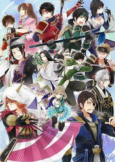 Tags: Fanart, Dynasty Warriors, Pixiv, Koei
