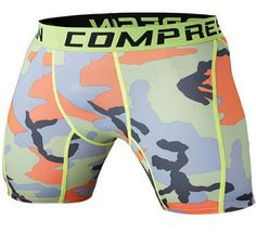Mens Compression Training Shorts