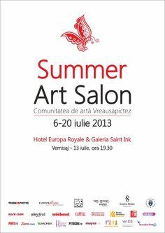Vernisaj Summer Art Salon - Bucuresti http://photoexplorers.net/2013/06/29/summer-art-salon-la-bucuresti-si-sinaia/