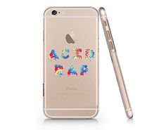 Acid Rap Tie Dye Text Quote Slim Iphone 6 6s Case, Clear ...