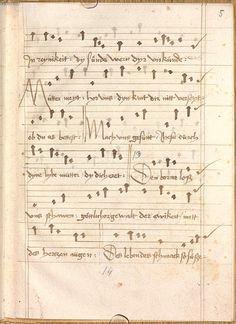 Sequentia 'Ave praeclara', Teutonicis verbis Erffordie compillatus 1492  Cgm 7351  Folio 13