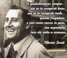 Vivere la propria vita. Alberto Sordi