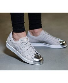 best service f734f d3c8e Adidas Superstar 80s Metal Toe Grey Trainers Adidas Superstar 80s Metal,  Grey Trainers, Lifestyle