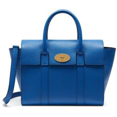 Mulberry Small New Bayswater (61.770 RUB) ❤ liked on Polyvore featuring accessories and porcelain blue