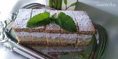 Medové rezy s piškótami (fotorecept) - recept | Varecha.sk Dessert Recipes, Desserts, Tiramisu, Health Fitness, Treats, Ethnic Recipes, Sweet, Food, Cakes