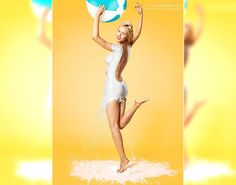 Having a ball! Photographer Jaroslav Wieczorkiewicz has put together a selection of beautiful pin-up shots for his limited edition Milk Calendar 2014, coming soon.