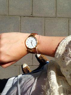 Watch from Mockberg, bracelet from Little U