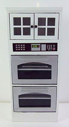 Dollhouse Miniature White Double Oven Cabinet Aztec Impor... https://www.amazon.com/dp/B003BQ69XM/ref=cm_sw_r_pi_dp_x_s8.6xb62FWM3G
