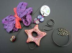 Shine On limited edition collaboration kit Art Beads Handmade   Staci Louise Originals