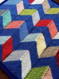 Ravelry: Beach Hut Blanket pattern by BabyLove Brand