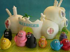 barbapapa cake!!! i want one for my birthday :)