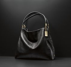 The Coach Madison Phoebe Shoulder Bag in Leather