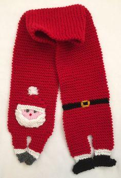 Frugal Knitting Haus - Santa Scarf, $2.50 (http://frugalhaus.com/santa-scarf/)