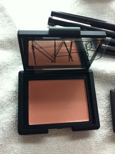 The '60s Italian sirens at Naeem Khan are also wearing this soft peach Nars blush