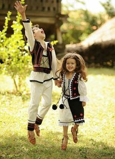 Traditional costumes in Romania Albania, Folk Costume, Costumes, Romania People, Adorable Petite Fille, Art Populaire, Thinking Day, The Beautiful Country, We Are The World